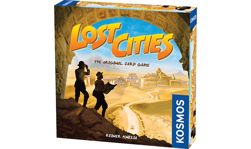 Lost Cities: The Card Game (T.O.S.) -  Thames and Kosmos