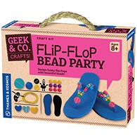 Flip-Flop Bead Party Product Image Downloads