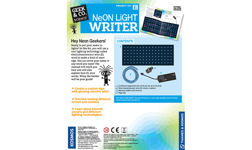 Science Kits: Neon Light Writer