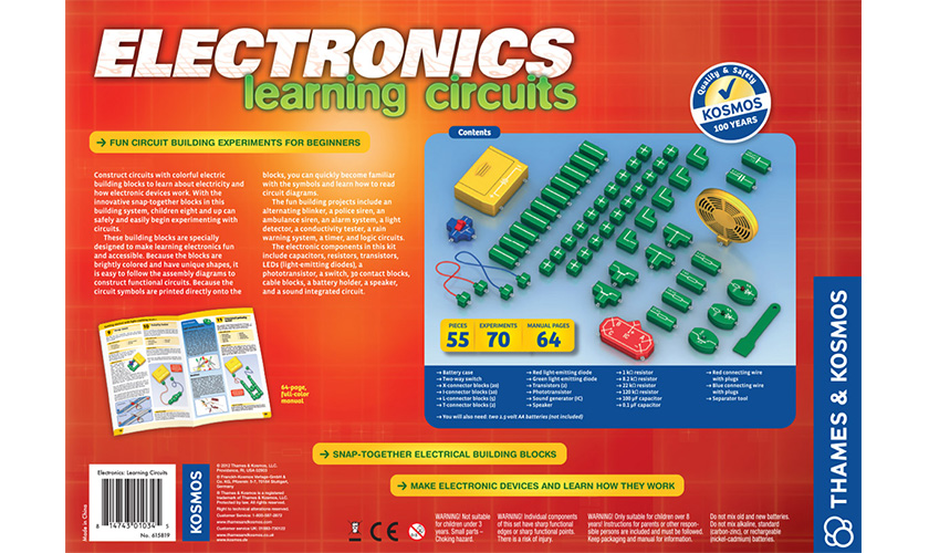 Electrical Science: Electronics Learning Circuits
