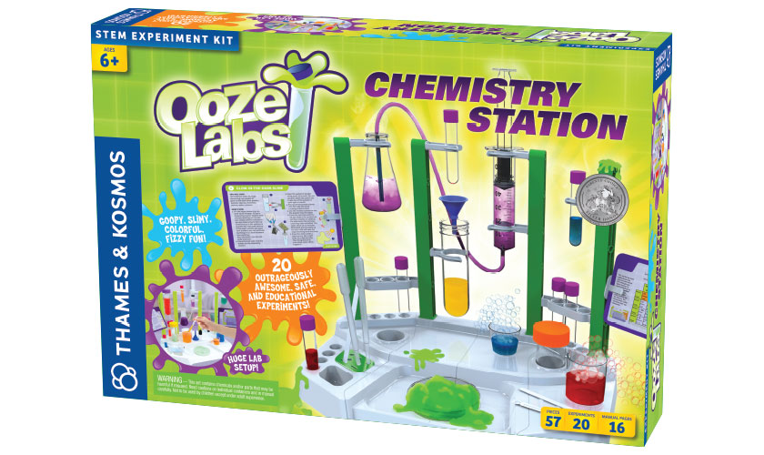 8 to 10: Ooze Labs Chemistry Station
