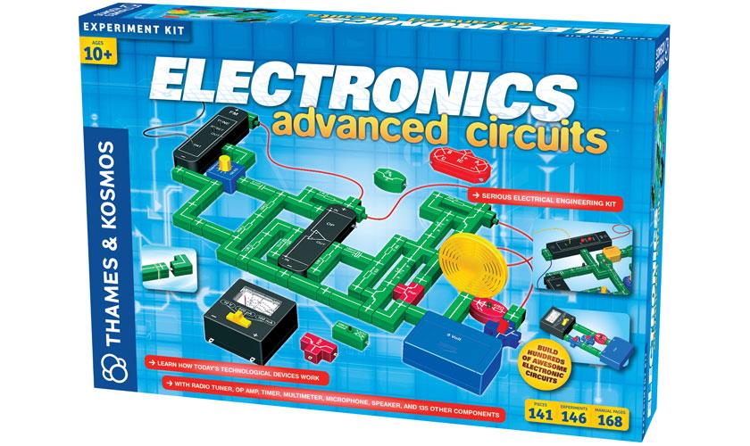 science kits electronics advanced circuits rh thamesandkosmos com