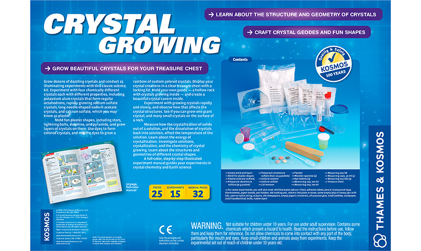 Science Kits Crystal Growing