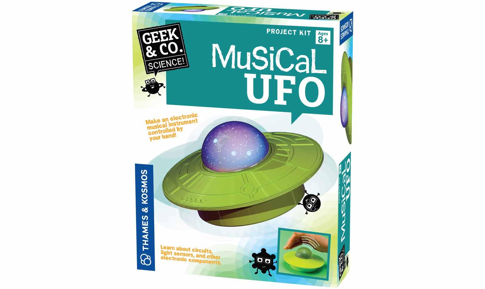 Science Kits Musical Ufo Circuits Alternative Energy Kit Green Physics Toys