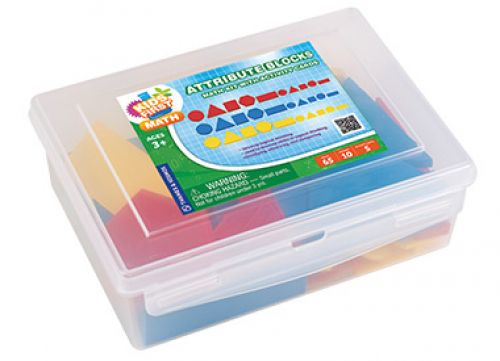 Attribute Blocks Math Kit with Activity Cards