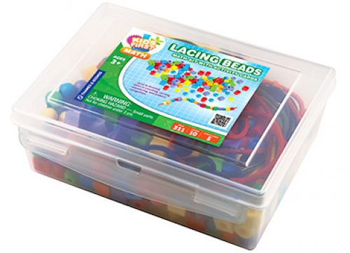 Lacing Beads Math Kit with Activity Cards
