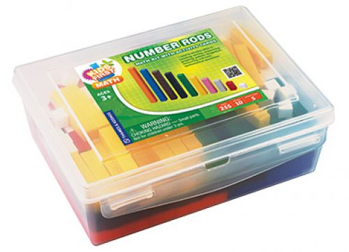 Number Rods Math Kit with Activity Cards