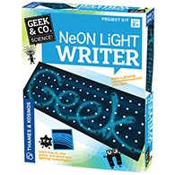 Neon Light Writer Product Image Downloads