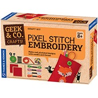 Pixel Stitch Embroidery Product Image Downloads