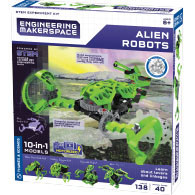 Engineering Makerspace Alien Robots Product Image Downloads