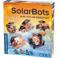 SolarBots: 8-in-1 Solar Robot Kit Product Image Downloads