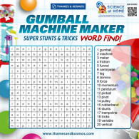 Gumball Machine Maker Word Find (ACTIVITY)