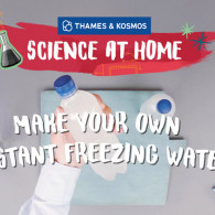Make Your Own Instant Freezing Water (VIDEO)