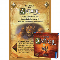 Legends of Andor: Base Game – Koram, the Gor Chieftain Mini Expansion (PRINT-N-PLAY GAMES)