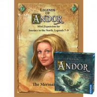 Legends of Andor: Journey to the North  – The Mermaid Iria Mini Expansion (PRINT-N-PLAY GAMES)