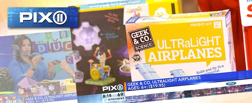 Ultralight Airplanes on Toys That Teach WPIX-NY