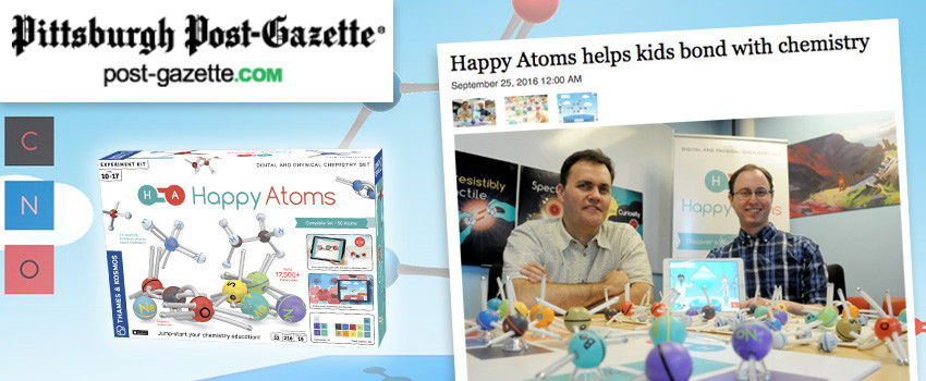 The Pittsburgh Post-Gazette sits down with the Happy Atoms team