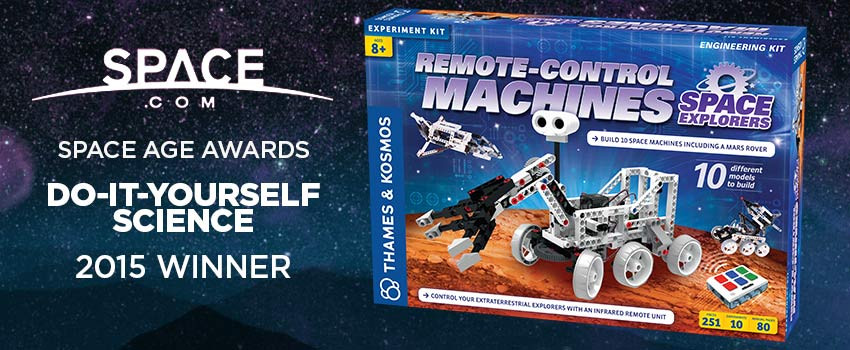 Remote-Control Machines Wins 2015 Space Age Award for do-it-yourself Science