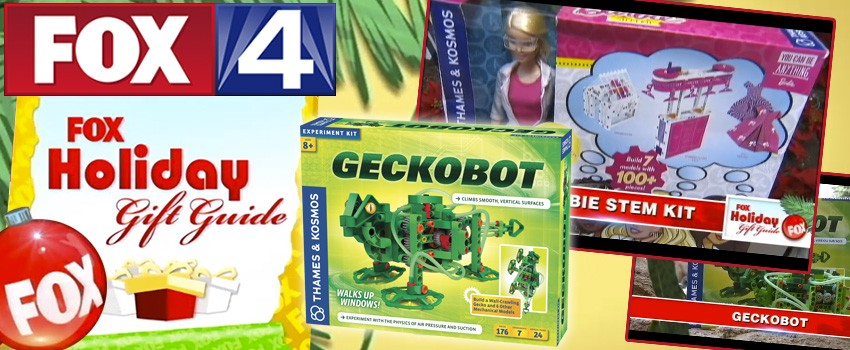 FOX Holiday Gift Guide includes Gecko, Magic, and Barbie