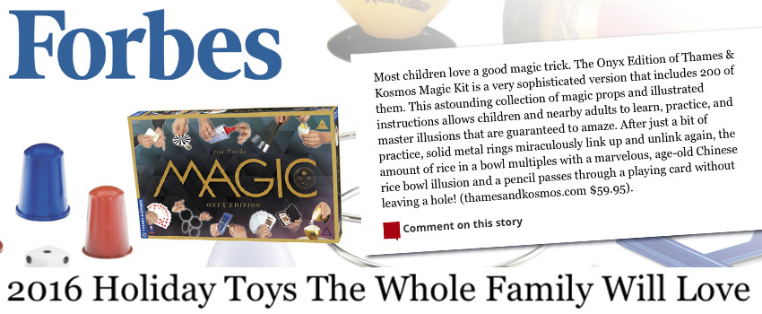 Forbes.com: Magic: Onyx Edition Great Family Pick for the Holidays