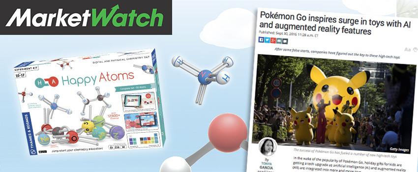 Happy Atoms catches Marketwatch's eye