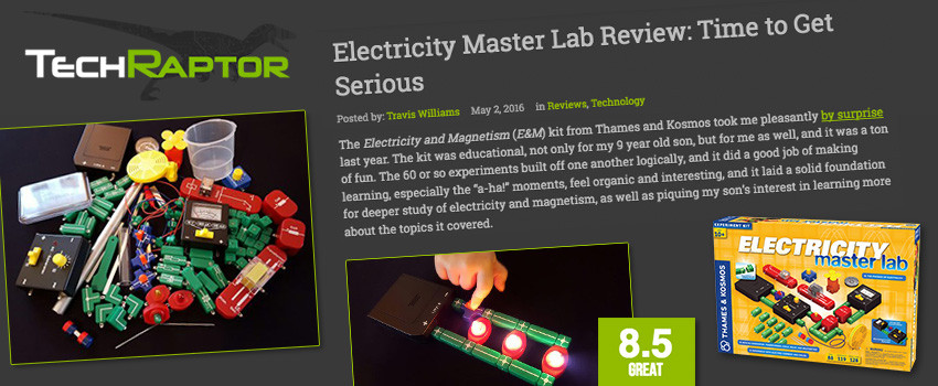 Review of Electricity: Master Lab on TechRaptor